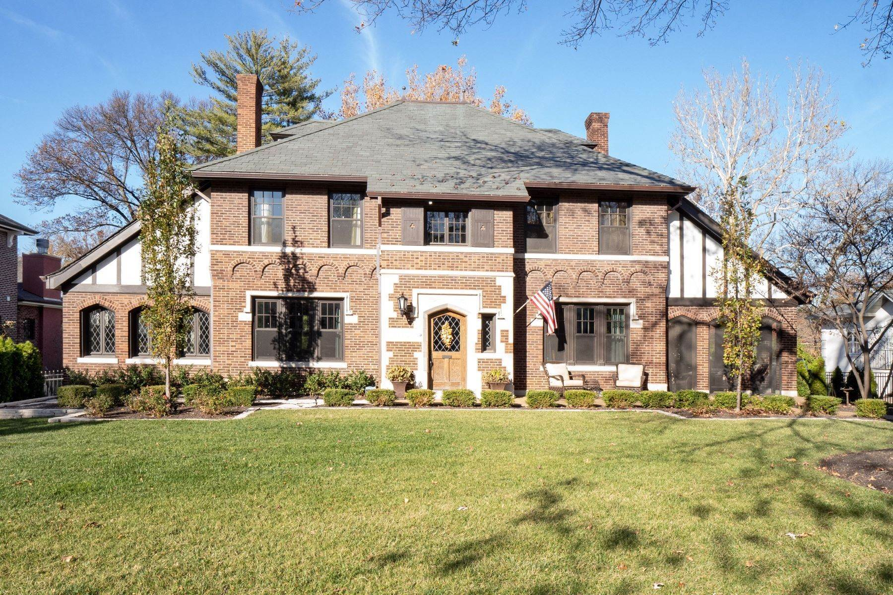 Single Family Homes for Sale at Charming U-City Home with Exceptional Craftsmanship 7255 Maryland Avenue University City, Missouri 63130 United States