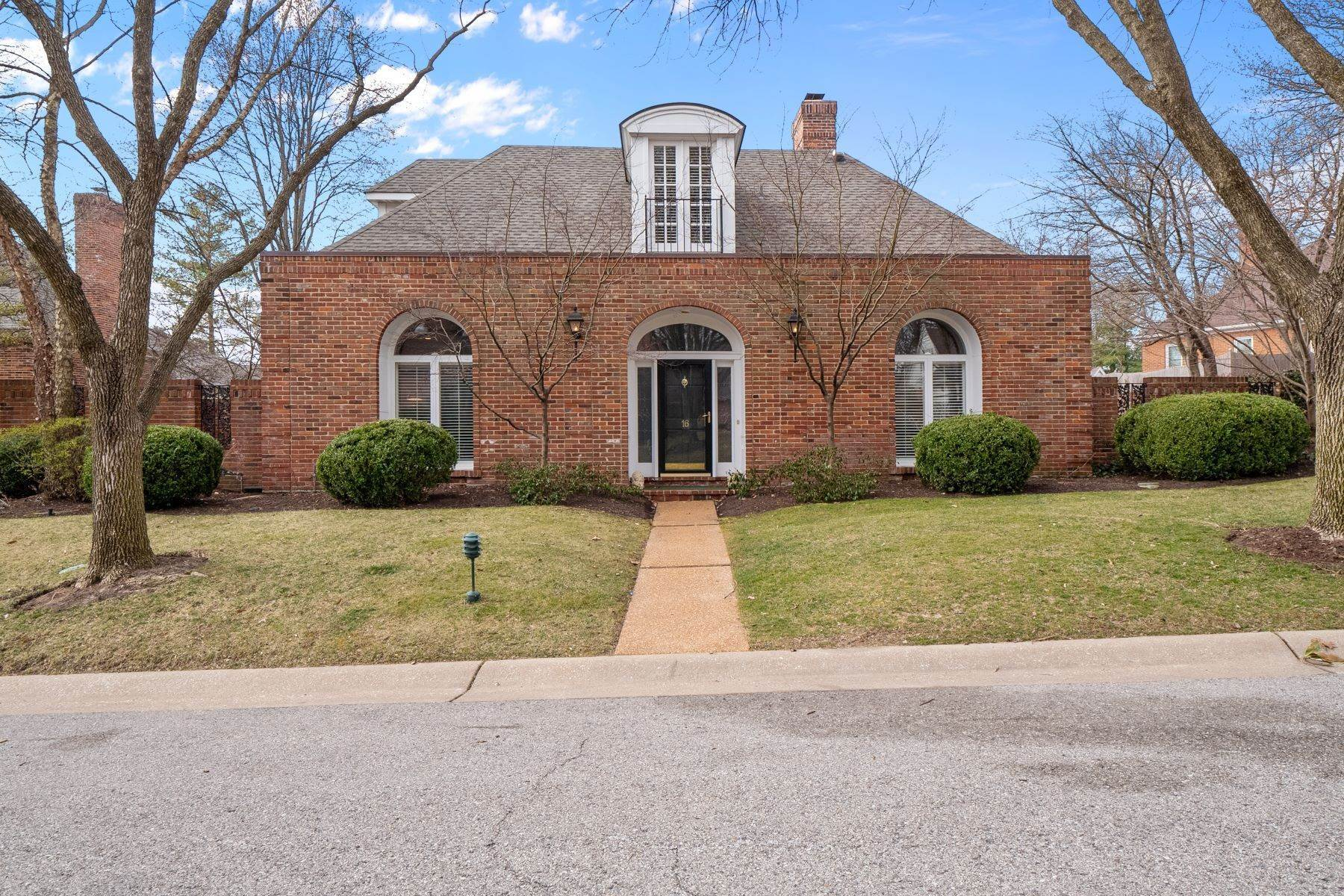 Single Family Homes for Sale at Crowned Jewel of Upper Price 16 Upper Price Road Olivette, Missouri 63132 United States
