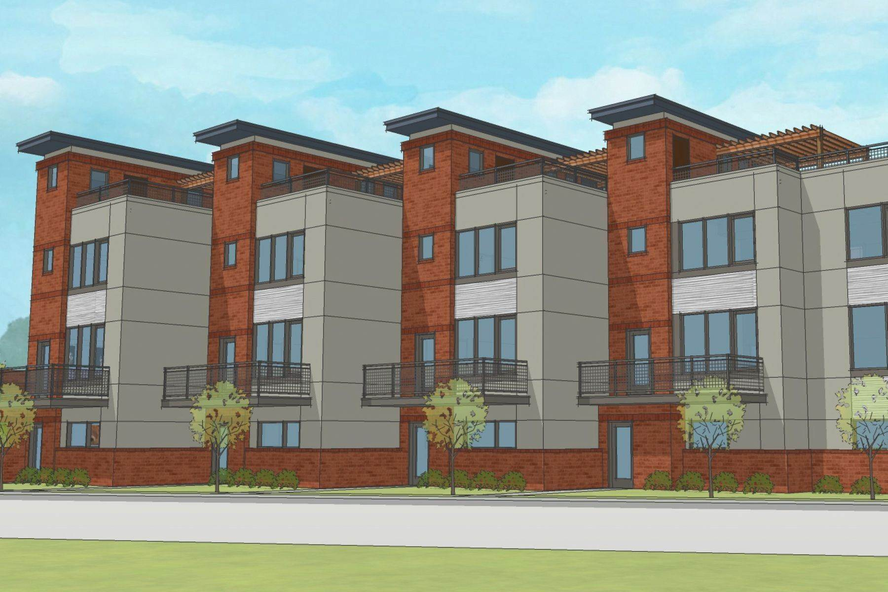 townhouses for Sale at 525 Des Peress- Walker Townhomes 525 Des Peres Avenue St. Louis, Missouri 63112 United States