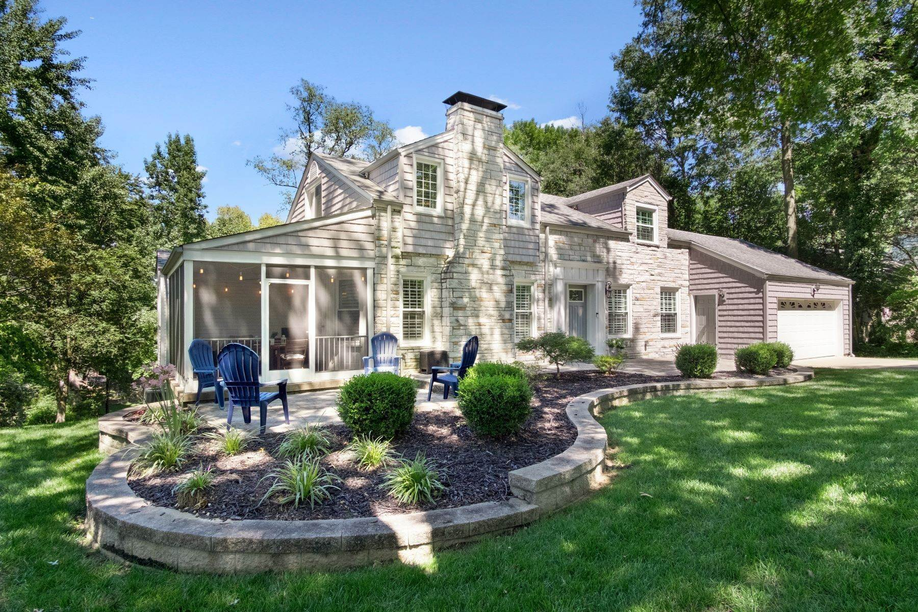 Single Family Homes for Sale at Charming Cape Cod Home In Ladue Schools 4 Chaminade Drive Creve Coeur, Missouri 63141 United States