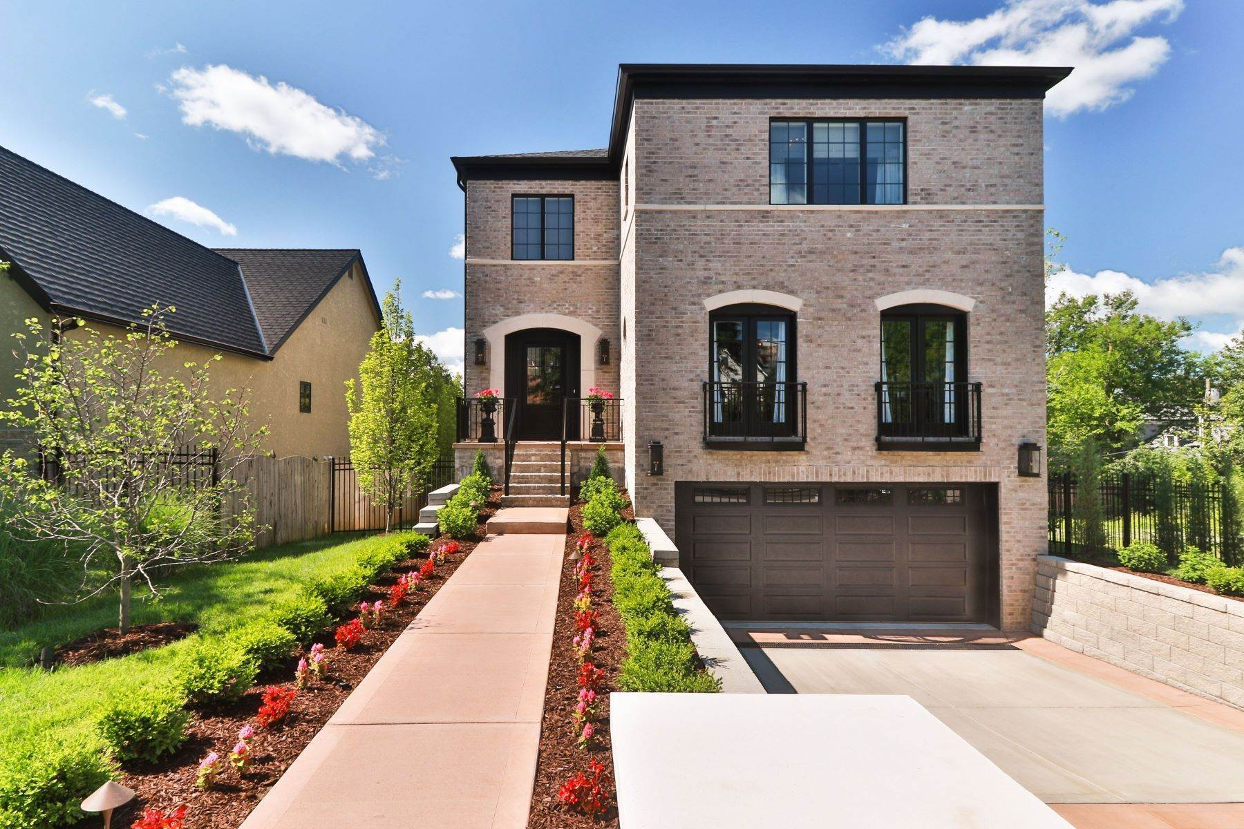 Single Family Homes for Sale at Luxury Living in Clayton Gardens 8044 Lafon Place University City, Missouri 63130 United States