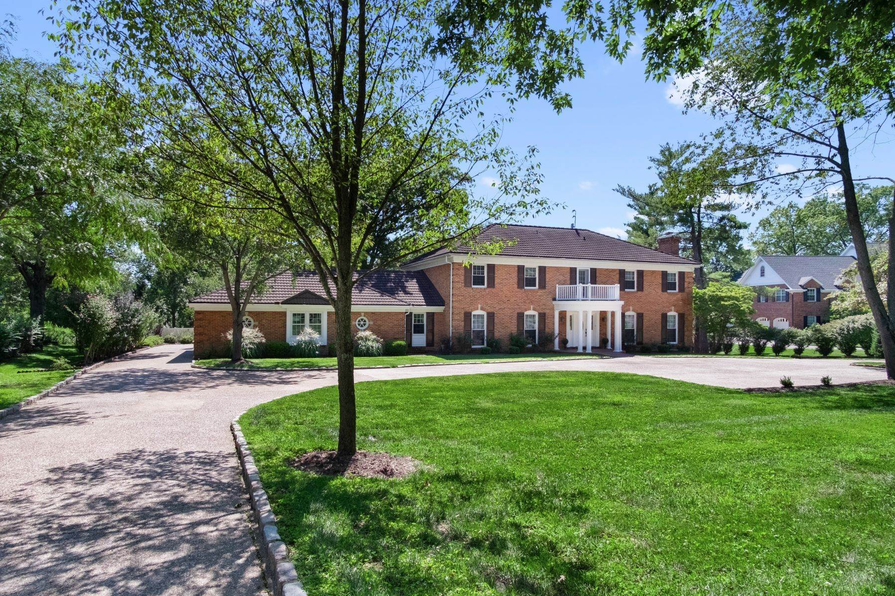 Single Family Homes for Sale at Experience Storied Muirfield Lane Steps from Bellerive Country Club Grounds 22 Muirfield Lane Town And Country, Missouri 63141 United States