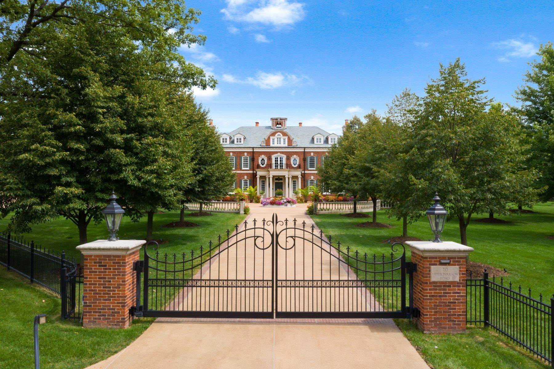 Single Family Homes for Sale at The Westbury Estate: A Legacy Property in the Heart of Ladue 20 Upper Warson Road Ladue, Missouri 63124 United States