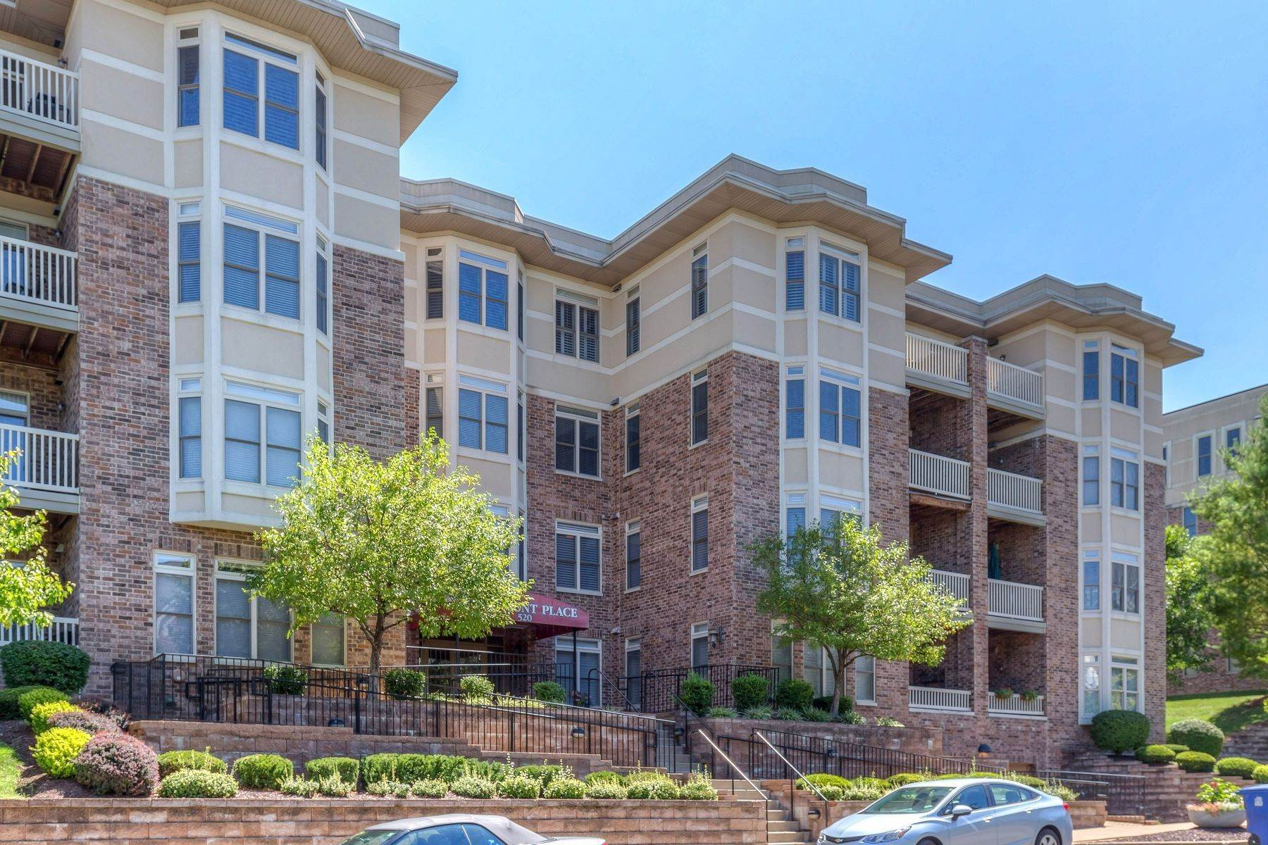 Condominiums for Sale at Impeccable Claymont Place Condo 520 North and South Road, #201 University City, Missouri 63130 United States