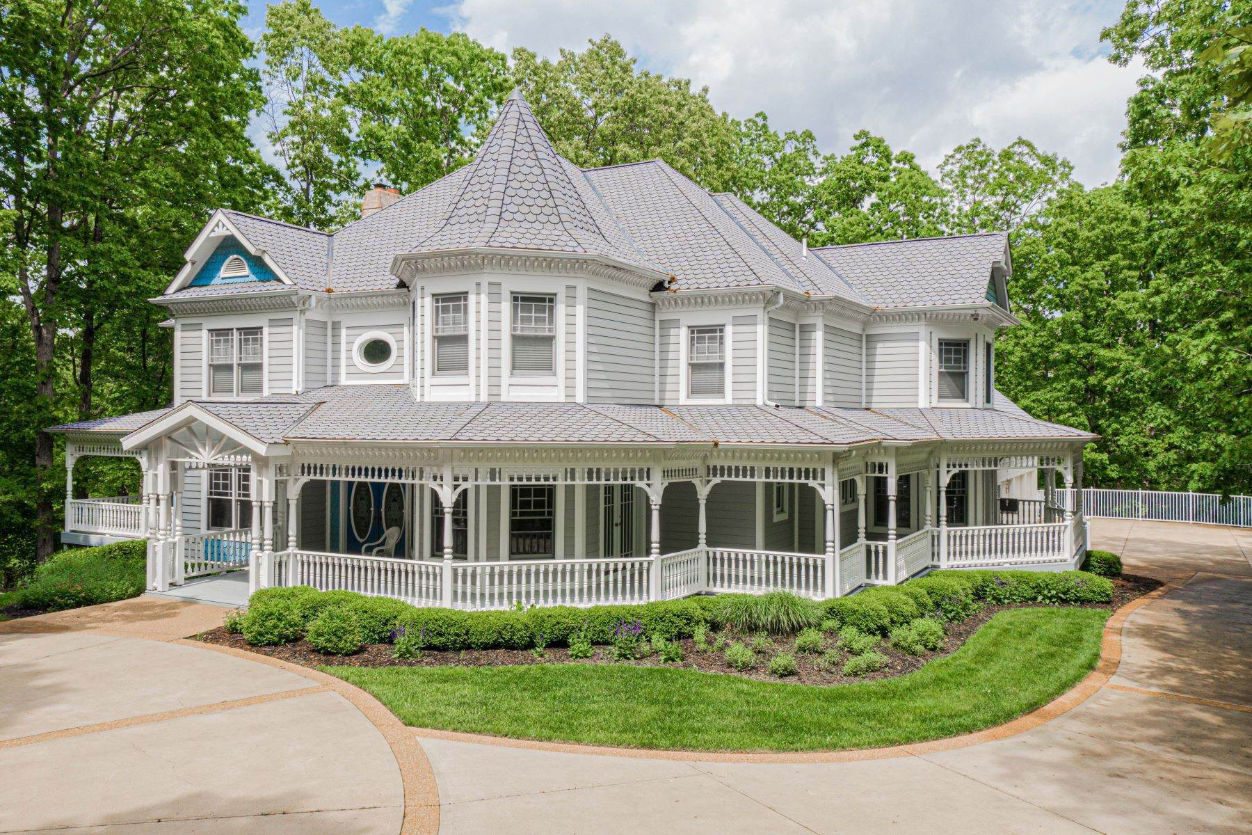 Single Family Homes for Sale at incredible Queen Anne style Victorian in Wildwood 19105 Towering Timber Court Pacific, Missouri 63069 United States