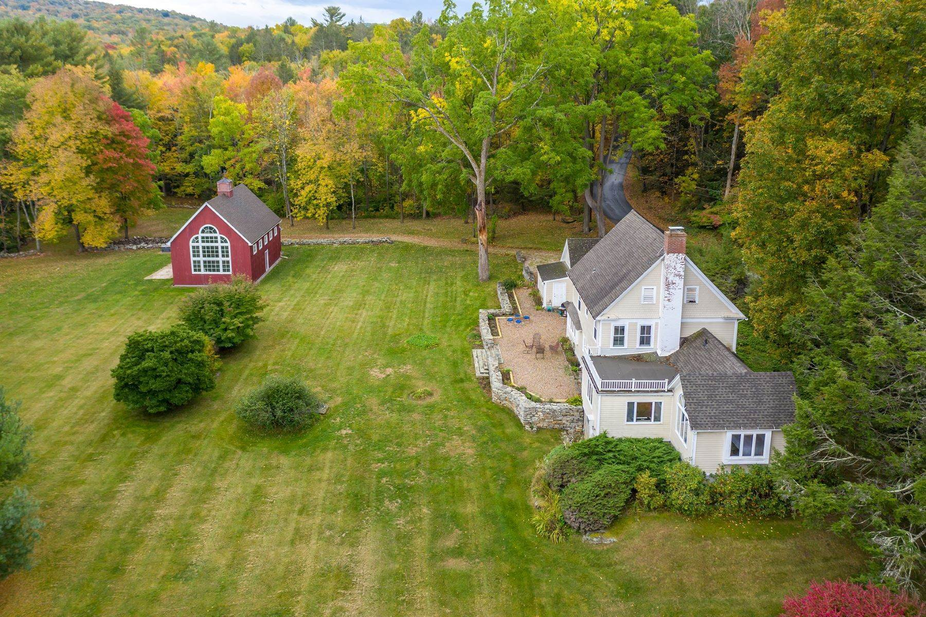 Single Family Homes for Sale at Scenic Cream Hill 432 Cream Hill Road Cornwall, Connecticut 06796 United States