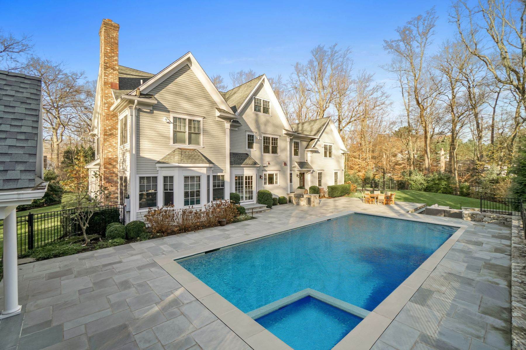 Single Family Homes for Sale at 1 Woods End Road Darien, Connecticut 06820 United States