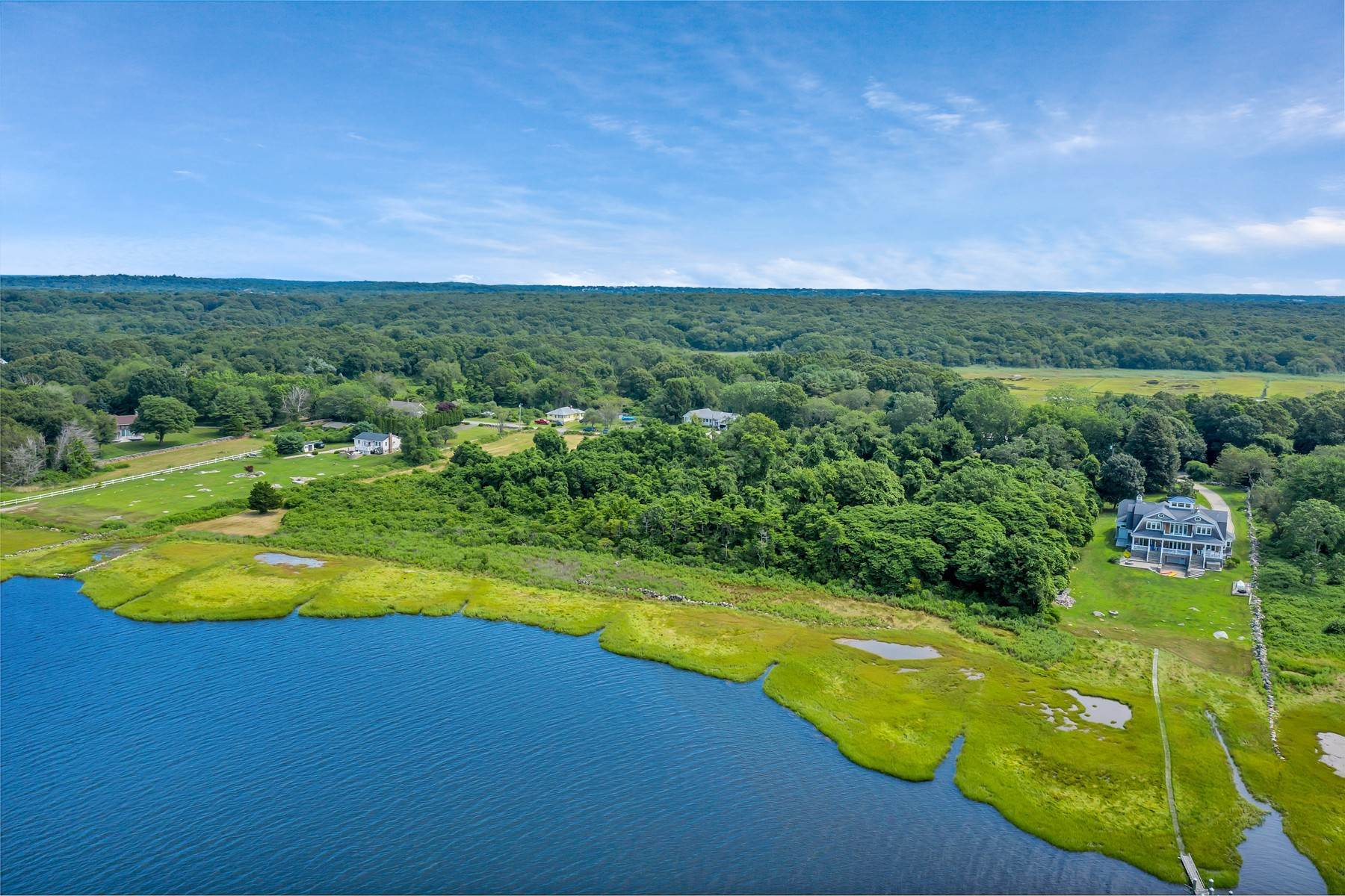Land for Sale at Spectacular Waterfront Land! 238b Palmer Neck Road Stonington, Connecticut 06378 United States